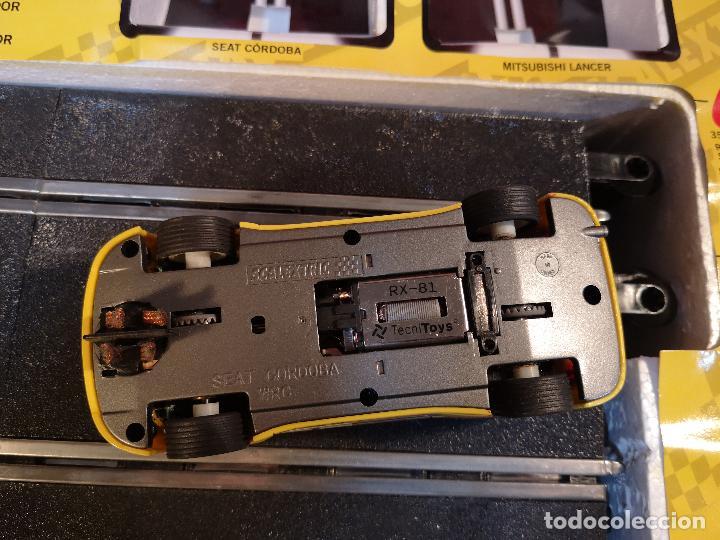 Scalextric: SCALEXTRIC X-TREME RALLY CON SEAT CORDOBA MITSUBISHI LANCER | TECNITOYS - Foto 4 - 148697858