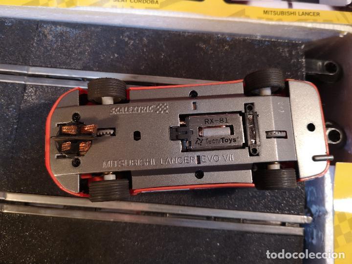 Scalextric: SCALEXTRIC X-TREME RALLY CON SEAT CORDOBA MITSUBISHI LANCER | TECNITOYS - Foto 6 - 148697858