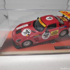 Scalextric: SCALEXTRIC MERCEDES SLS GT3 DHL REF. A10105S300. Lote 148993016