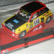 Scalextric: RENAULT 5 TURBO FIRST RALLY 1979 SCALEXTRIC. Lote 149665882