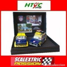 Scalextric: SCALEXTRICPASSION FIAT 131 ASISTENCIA + ABARTH #3 WINNER 1000 LAGOS 1976 ALEN / KIVIMACKI SP024. Lote 140077358
