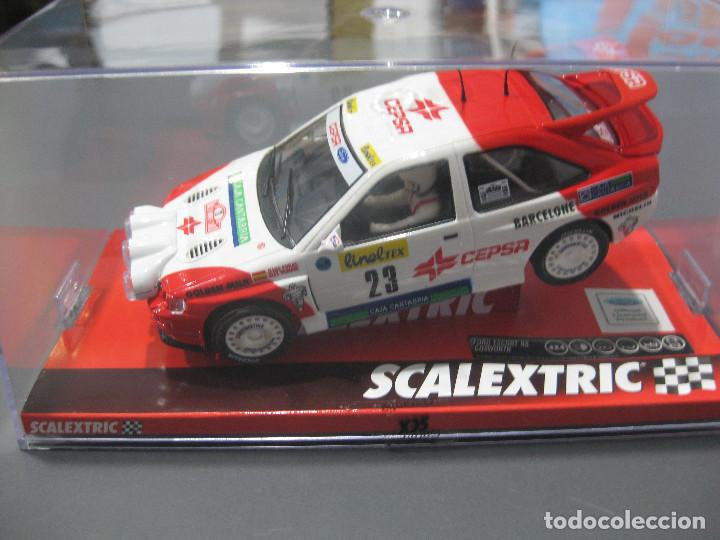 A10196S300 - FORD ESCORT RS COSWORTH PURAS - MONTECARLO DE SCALEXTRIC (Juguetes - Slot Cars - Scalextric Tecnitoys)