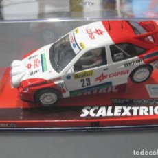 Scalextric: A10196S300 - FORD ESCORT RS COSWORTH PURAS - MONTECARLO DE SCALEXTRIC. Lote 151836060