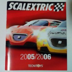 Scalextric: CATÁLOGO SCALEXTRIC 2005 / 2006 - TECNITOYS - SLOT. Lote 150675826