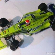 Scalextric: SCALEXTRIC TECNITOYS MINARDI F1 - MARC GENE - FIRMADO. Lote 150676218