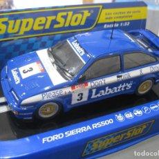 Scalextric: OFERTA - H3867 - FORD SIERRA RS500 LABATT´S DE SUPERSLOT. Lote 150745802