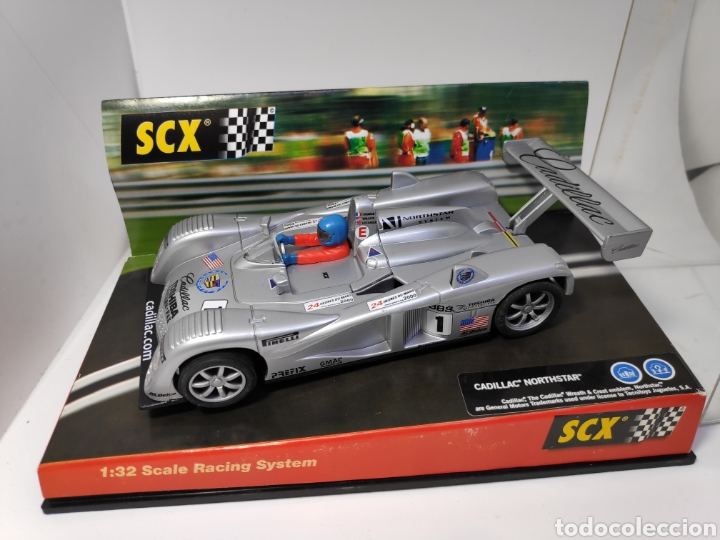 SCALEXTRIC CADILLAC NORTHSTART LE MANS SCX TECNITOYS REF. 60470 (Juguetes - Slot Cars - Scalextric Tecnitoys)