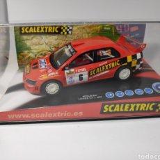 Scalextric: SCALEXTRIC MITSUBISHI LANCER EVO VII SCALEXTRIC TECNITOYS REF. 6160. Lote 151617924