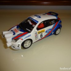 Scalextric: SCALEXTRIC. FORD FOCUS. RALLY MONTECARLO. SAINZ. Lote 151648870