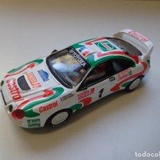 Scalextric: TOYOTA CELICA GT FOUR AURIOL GANADOR TOUR CORSE 1995 SCALEXTRIC SCX 1:32, NUEVO. Lote 151651250