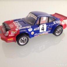 Scalextric: SLOT, SCALEXTRIC, SCX, PORSCHE CARRERA RS,911 SC Nº4, G.FRENQUELIN, 4º RALLYE MONTECARLO 1982. Lote 151732258