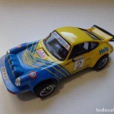 Scalextric: PORSCHE 911 SC BENY FERNÁNDEZ 1981 SCALEXTRIC ALTAYA 1:32 2005, NUNCA JUGADO, NUEVO. Lote 151848674