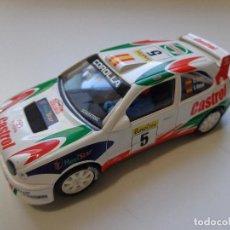 Scalextric: TOYOTA COROLLA WRC CARLOS SAINZ ORIGINAL SCALEXTRIC ALTAYA 1:32, NUNCA JUGADO, NUEVO. Lote 151889058