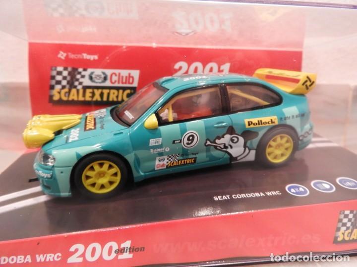 Scalextric: SEAT CORDOBA WRC 2001 - CLUB SCALEXTRIC TECNITOYS - EDICION LIMITADA - Foto 2 - 152536838