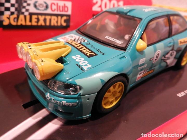 Scalextric: SEAT CORDOBA WRC 2001 - CLUB SCALEXTRIC TECNITOYS - EDICION LIMITADA - Foto 4 - 152536838
