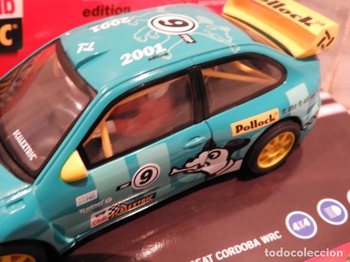Scalextric: SEAT CORDOBA WRC 2001 - CLUB SCALEXTRIC TECNITOYS - EDICION LIMITADA - Foto 6 - 152536838
