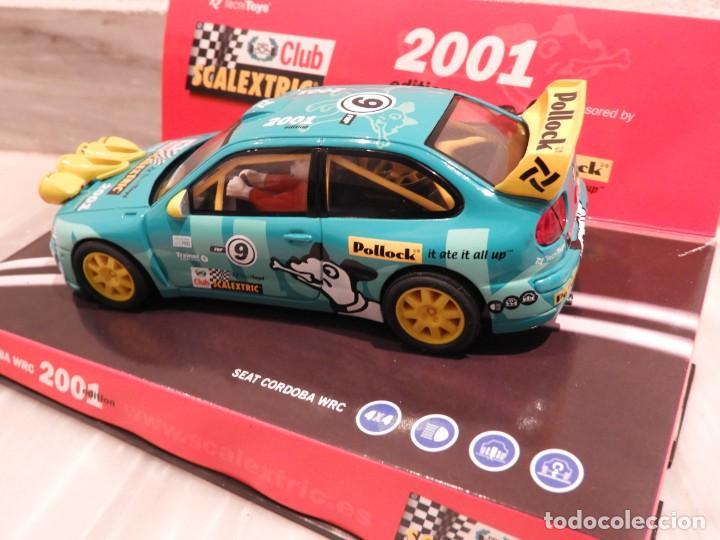 Scalextric: SEAT CORDOBA WRC 2001 - CLUB SCALEXTRIC TECNITOYS - EDICION LIMITADA - Foto 7 - 152536838