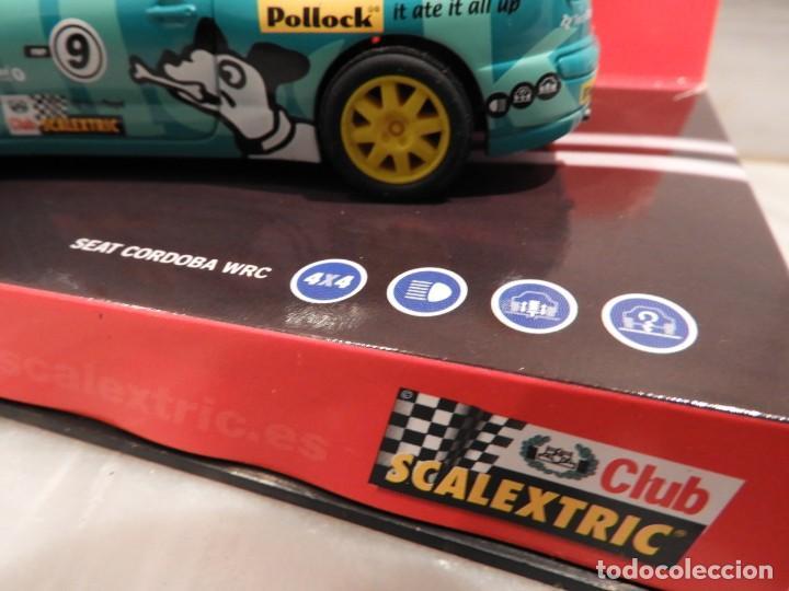 Scalextric: SEAT CORDOBA WRC 2001 - CLUB SCALEXTRIC TECNITOYS - EDICION LIMITADA - Foto 8 - 152536838