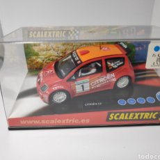 Scalextric: SCALEXTRIC CITROEN C2 JWRC TECNITOYS REF. 6166. Lote 152687570