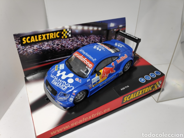 SCALEXTRIC AUDI TT-R RED BULL TECNITOYS REF. 6131 (Juguetes - Slot Cars - Scalextric Tecnitoys)