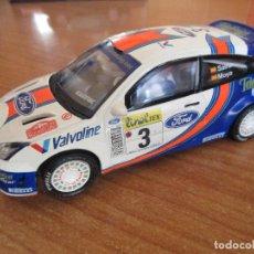 Scalextric: SCALEXTRIC: FORD FOCUS WRC (TECNITOYS) LUIS MOYA/CARLOS SAINZ. Lote 154147462