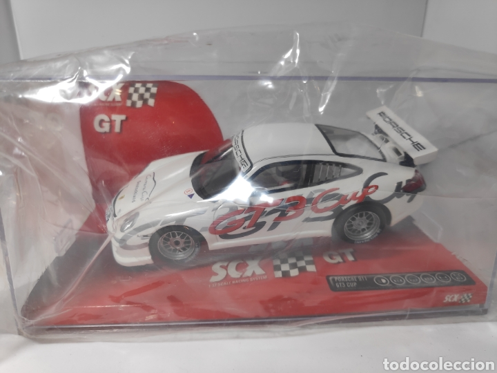SCALEXTRIC PORSCHE 911 GT3 CUP SCX TECNITOYS REF. 62810 (Juguetes - Slot Cars - Scalextric Tecnitoys)