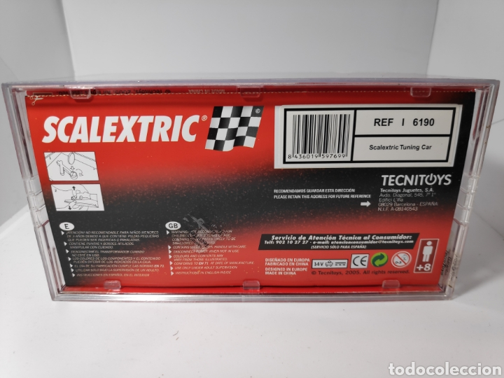 Scalextric: SCALEXTRIC TUNING CAR TECNITOYS REF. 6190 - Foto 2 - 154201741