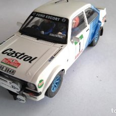 Scalextric: SCALEXTRIC FORD ESCORT MK II RS 1800. CON LUCES. Lote 154454722