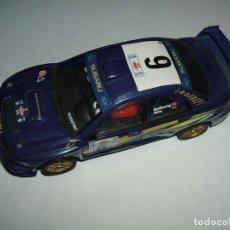 Scalextric: SUBARU IMPREZA WRC CON LUZ SCALEXTRIC TECNITOYS. Lote 155097650
