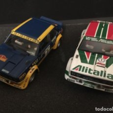 Scalextric: DUO SEAT 131 ABARTH SCALEXTRIC. Lote 155899734