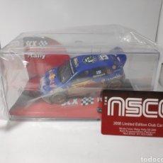 Scalextric: SCALEXTRIC SKODA FABIA WRC RED BULL DIRT EFFECT TECNITOYS SCX NSCC REF. 63490. Lote 155914457