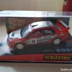 Scalextric: MITSUBISHI LANCER EVO 7 WRC SCALEXTRIC TECNITOYS. Lote 156664834