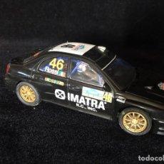 Scalextric: SUBARU IMPREZA WRC SCALEXTRIC ROSSI . Lote 157728638