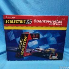 Scalextric: CUEBTAVUELTAS ELECTRÓNICO SCALEXTRIC TECNITOYS. Lote 158351005