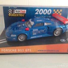 Scalextric: SLOT,SCALEXTRIC 6043,PORSCHE 911 993 GT1, CLUB SCALEXTRIC 2000. Lote 158443174