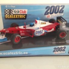 Scalextric: SLOT,SCALEXTRIC 6105, ARROWS A-21 F1-2000, CLUB SCALEXTRIC 2002, F1 EDITION. Lote 158443966
