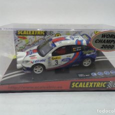 Scalextric: SCALEXTRIC FORD FOCUS WRC #3 | MONTECARLO 2001 | REF 6067. Lote 158585970