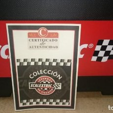 Scalextric: MALETÍN SCALEXTRIC CON 12 COCHES + BOLSA. Lote 159052786