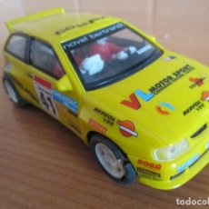 Scalextric: SCALEXTRIC: SEAT IBIZA KIT CAR (TECNITOYS). Lote 159428218