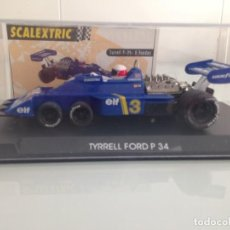 Scalextric: SLOT,SCALEXTRIC TYRRELL FORD P-34. Lote 160109742