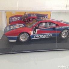 Scalextric: SLOT, SCALEXTRIC, FERRARI 308 GTB Nº12, PIONEER, JEAN CLAUDE ANDRUET-BICHE 2º TOUR DE CORSE 1987. Lote 160166662