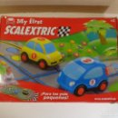 Scalextric: CIRCUITO COMPLETO 2 COCHES ORIGINAL MY FIRST SCALEXTRIC, SIN USO, PERFECTO ESTADO, CASI NUEVO. Lote 160410886