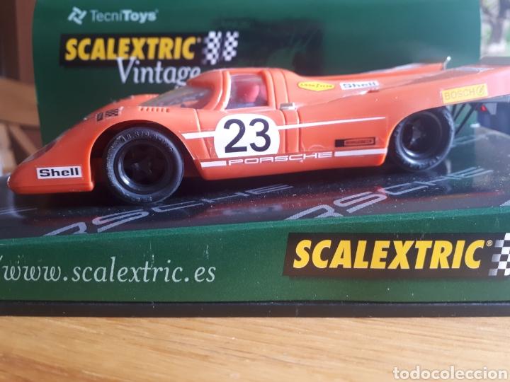 Scalextric: Scalextric Porsche 917 vintage - Foto 3 - 160443653