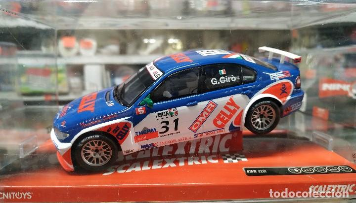 BMW 320I WTCC SLOT CAR RELEASED BY SCALEXTRIC SPAIN (SCX) (REFERENCE 6383) IN 2009, 1:32 SCALE.NUEVO (Juguetes - Slot Cars - Scalextric Tecnitoys)