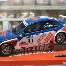 Scalextric: BMW 320I WTCC SLOT CAR RELEASED BY SCALEXTRIC SPAIN (SCX) (REFERENCE 6383) IN 2009, 1:32 SCALE.NUEVO. Lote 160553422