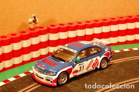 Scalextric: BMW 320i WTCC slot car released by Scalextric Spain (SCX) (reference 6383) in 2009, 1:32 scale.NUEVO - Foto 4 - 160553422