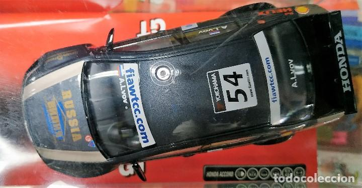 Scalextric: Honda Accord Wtcc slot car released by Scalextric Spain (SCX) (reference 6311) in 2008, 1:32.NUEVO - Foto 2 - 160575406