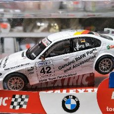 Scalextric: BMW 320 WTCC SLOT CAR RELEASED BY SCALEXTRIC SPAIN (SCX) (REFERENCE 6197) IN 2006, 1:32 NUEVO. Lote 160575786