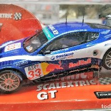 Scalextric: ASTON MARTIN DBR9 SLOT CAR RELEASED BY SCALEXTRIC SPAIN (SCX) (REFERENCE 6319) IN 2008, NUEVO. Lote 160583374