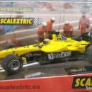 Scalextric: JORDAN F1 'NURBURGRING' SLOT CAR RELEASED BY SCALEXTRIC SPAIN (SCX) (REFERENCE 6155) IN 2004,NUEVO. Lote 160585094